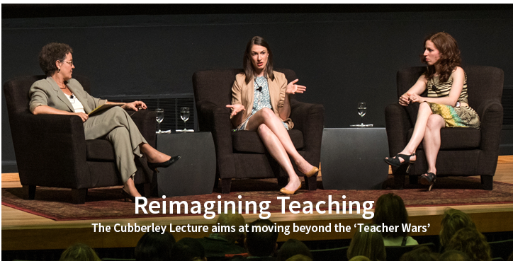 Cubberley Lecture: Reimagining Teaching