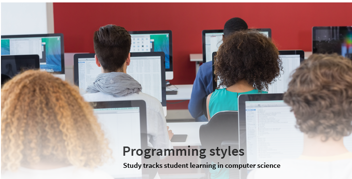 Programming styles; study tracks student learning in computer science