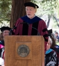 Edward Haertel at Stanford GSE's 2014 commencement ceremony. (Photo by Chris Wesselman)